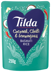 Tilda Coconut Chilli and Lemongrass Basmati Rice