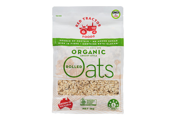 Red Tractor Organic Rolled Oats