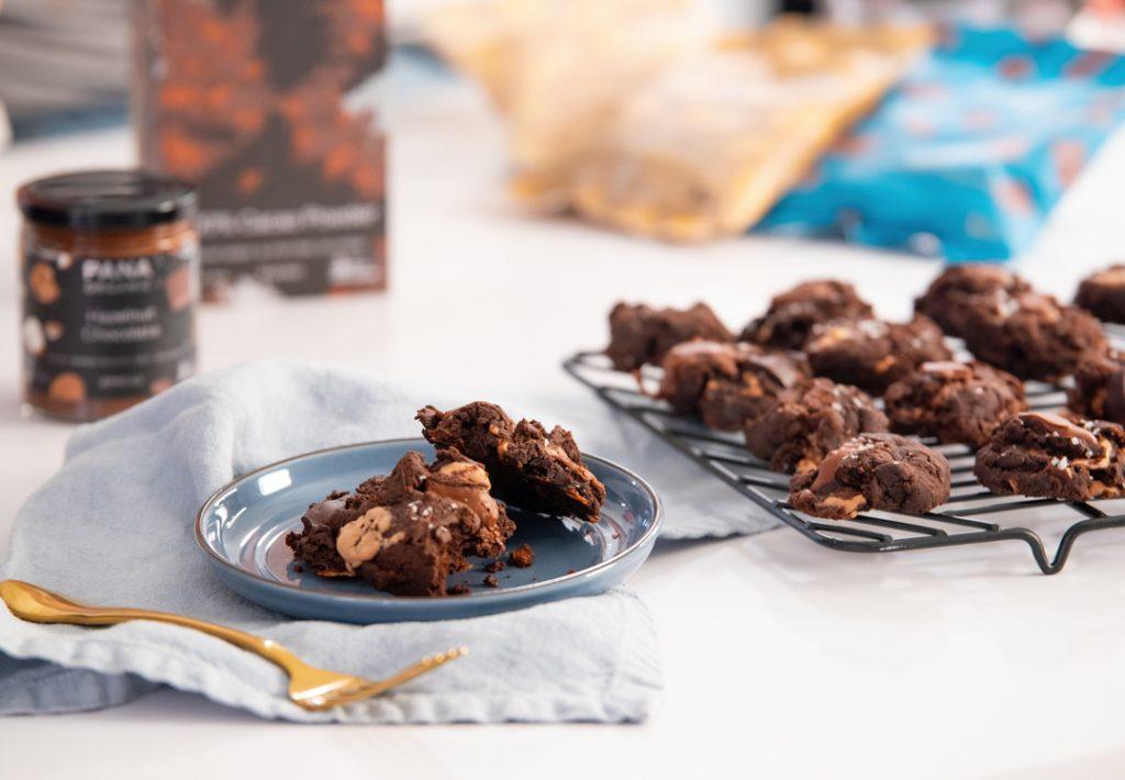 Pana Organic Quad Choc Cookies
